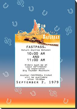 Thunder Mountain- Fastpass (#2) by Margybear