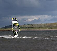 Windsurfer at Newton by Henry Bird