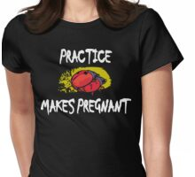 Funny Pregnant Mom To Be Womens Fitted T-Shirt