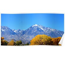 It's The Eastern Sierras Poster