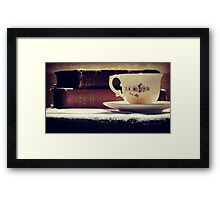 Charlie, Tea and Me... Framed Print