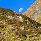Mountain Moon by Walter Quirtmair
