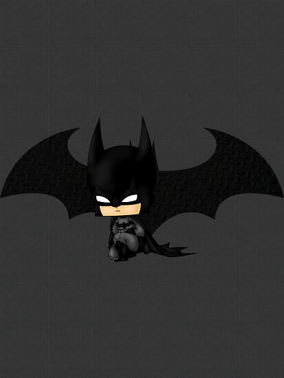 Chibi Batman  by artwaste