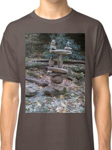 Awesome Stacked River Rock Tower  Classic T-Shirt