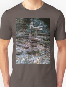 Awesome Stacked River Rock Tower  T-Shirt