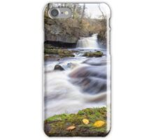 Cauldron Falls in Autumn iPhone Case/Skin