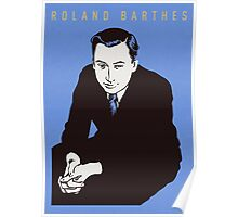 Roland Barthes Poster