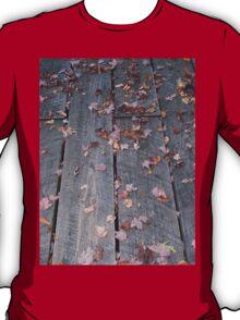 Weathered Boardwalk Hiking Trail T-Shirt