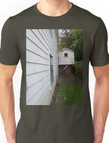 Side View of an Old Coal Camp House Unisex T-Shirt