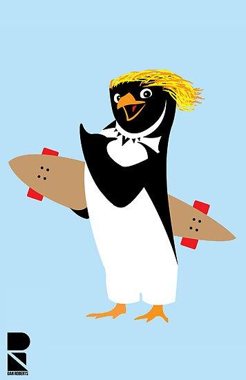Penguin Gnar! by Dan Roberts