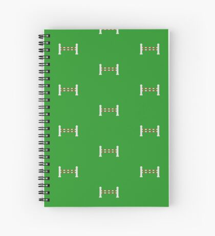 Riding hurdle Spiral Notebook