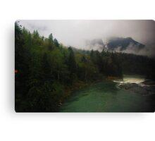 Washington State Mountains Canvas Print