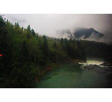 Washington State Mountains Photographic Print