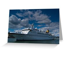 Spirit Of Adventure, Dartmouth, England Greeting Card