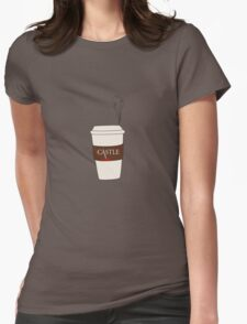Castle coffee Womens Fitted T-Shirt