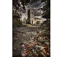 life travels on....(Teversal Church, Derbyshire, England, UK) Photographic Print