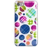 Plaid Polka Dots (iPhone) iPhone Case/Skin