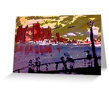 London, watercolor Greeting Card
