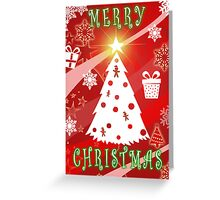 Merry Christmas from Gingerbread Graphics Greeting Card