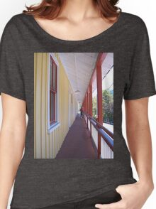 Retro Old Walkway in West Virginia Women's Relaxed Fit T-Shirt
