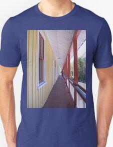 Retro Old Walkway in West Virginia T-Shirt