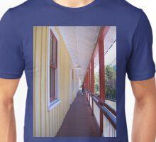 Retro Old Walkway in West Virginia Unisex T-Shirt