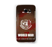 World War Z Cover Samsung Galaxy Case/Skin