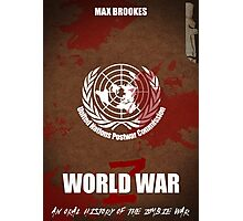 World War Z Cover Photographic Print
