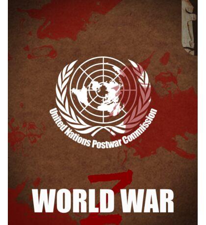 World War Z Cover Sticker
