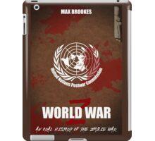 World War Z Cover iPad Case/Skin