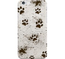 Muddy Paws (iPhone) iPhone Case/Skin