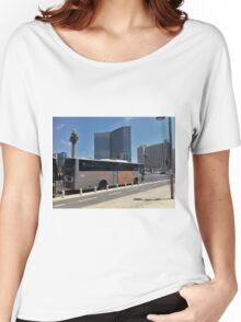 Bus in the City Women's Relaxed Fit T-Shirt