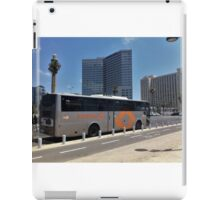 Bus in the City iPad Case/Skin