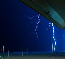 Storm at Ipanema Beach by Marton Divenyi