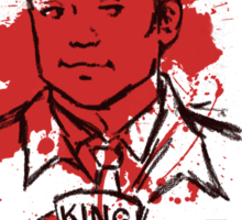Crowley is our King Sticker