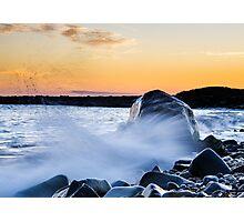 Waves Splash Photographic Print