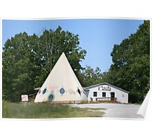 The BIG Teepee Poster