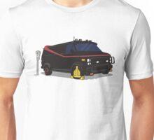 The A-Team Van Wheel Clamp  Unisex T-Shirt