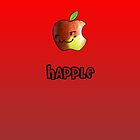 Happle iPhone Red by Adam Angold