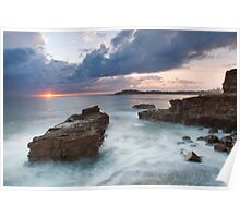 Sunrise at Yamba, NSW Poster
