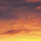 Fiery Sunset Clouds, Louisville, KY by Richard J. Bartlett