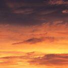 Fiery Sunset Clouds II, Louisville, KY by Richard J. Bartlett