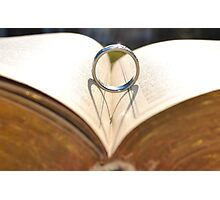 Book of Love Photographic Print