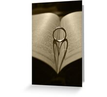 Book of Love 2 Greeting Card