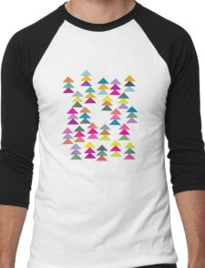 Lost in a Forest Men's Baseball ¾ T-Shirt
