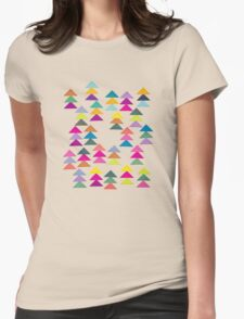Lost in a Forest Womens Fitted T-Shirt