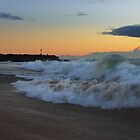 Morning Surf at Kingscliff by Ron Finkel