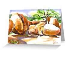 Elephant Rocks State Park Greeting Card