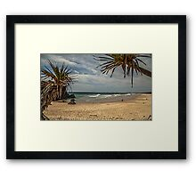 Dreamtime Beach Fingal Head Framed Print