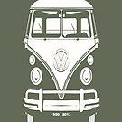 VW BUS, 1950-2013  by Kirk Shelton
